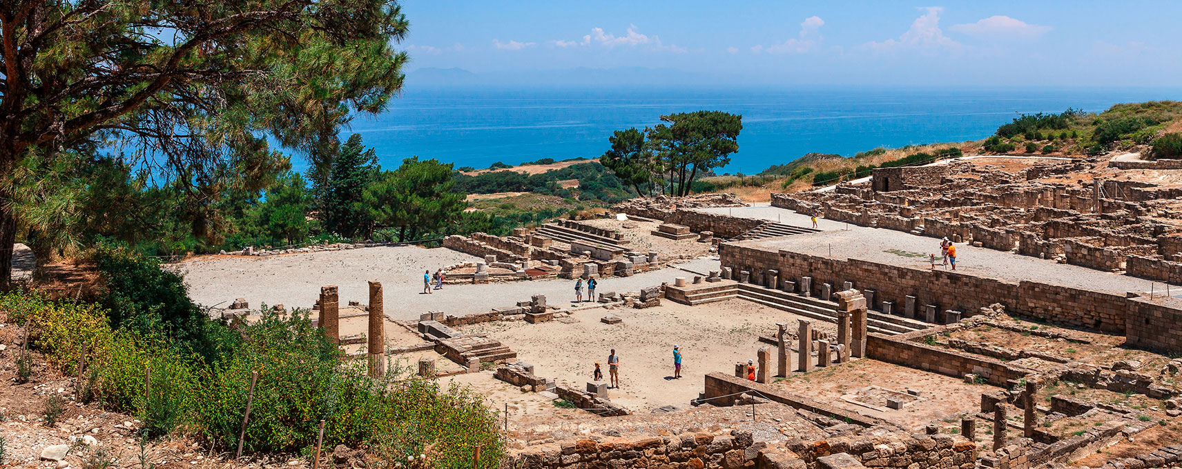 The Ancient City Of Kamiros